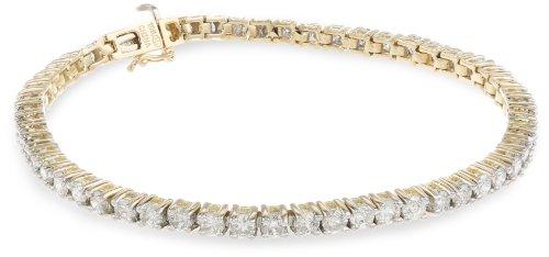 10k Gold 4-Prong Diamond Tennis Bracelet (5 cttw,