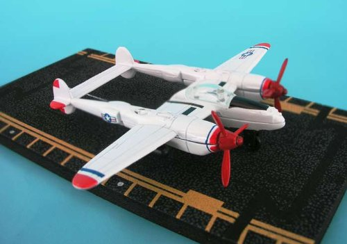Daron HW17111 Hot Wings P-38 Red Tip