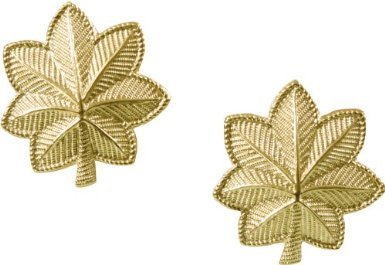 Polished Major Officer Insignia Set (1703)