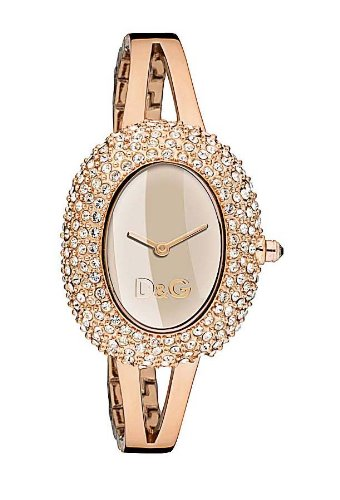 Dolce & Gabbana Rose Gold Plated Ladies Watch - DW0278