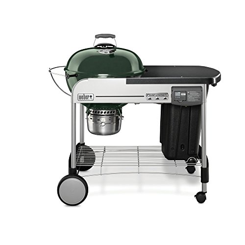 weber 15507001 performer deluxe charcoal grill 22 inch green weber gas grills reviews. Black Bedroom Furniture Sets. Home Design Ideas