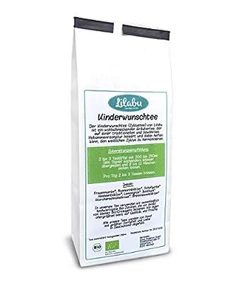 Kinderwunschtee (Zyklustee) | 90g Bio-Tee | Bio Kräuter-Tee zur Harmonisierung des weiblichen Zyklus - nach traditioneller Hebammenrezeptur von Good Organics - Gewürze Shop