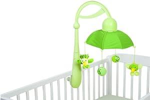 Babymoov- A104404 - Móvil con forma de paraguas para cunas, color verde en BebeHogar.com