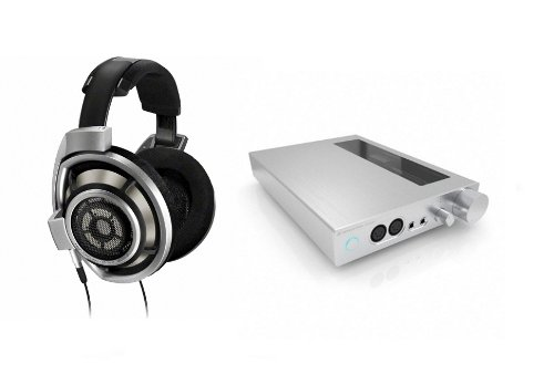 Sennheiser Hd800 And Hdvd800 Headphone And Amplifier Package