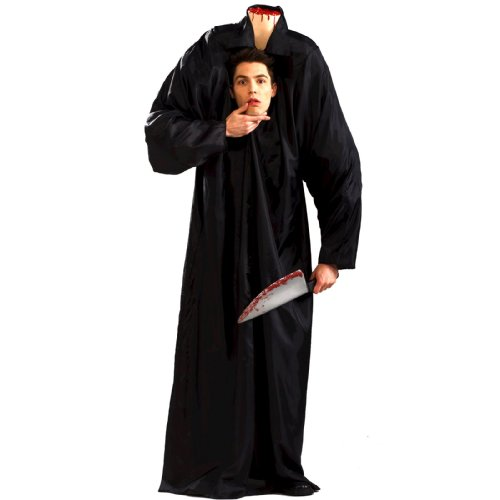Headless Man Adult Halloween Costume Size Standard