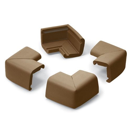 Prince Lionheart Jumbo Corner Guards, Chocolate