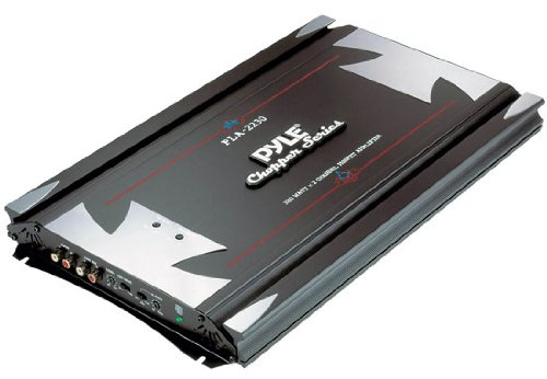 Brand New Pyle 3,000 Watt 2 Channel Bridgeable Car Amplifier with Built in High and Low Pass Crossover Network + Built in Sub-sonic Filter