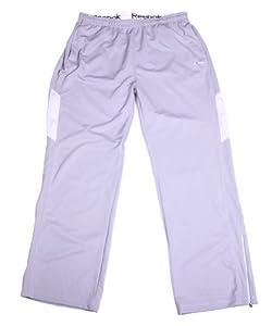 Reebok Mens Hydromove Athletic Pants (2XL, Grey)