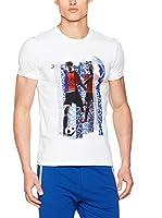 Dirk Bikkembergs Camiseta Manga Corta (Blanco Óptico)