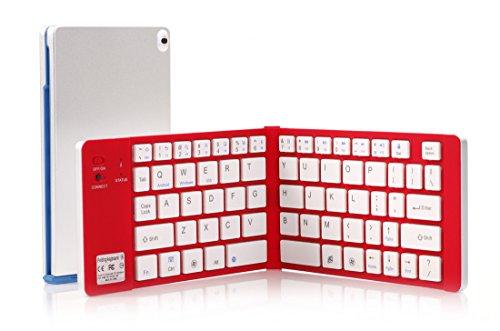 Bluetooth キーボード 超薄 内蔵電池 Windows/iOS/An...