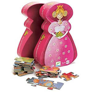 Djeco / Shaped Box Puzzle, The Princess and The Frog