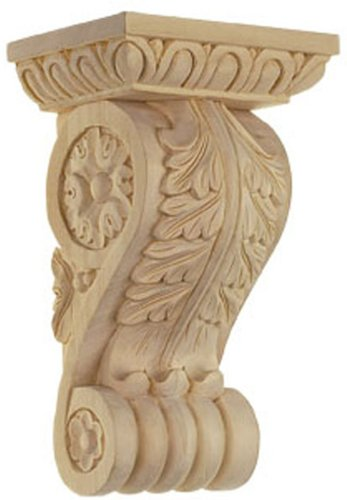 Bendix 1948 Acanthus Corbel with Egg and Dart-Bass, Small