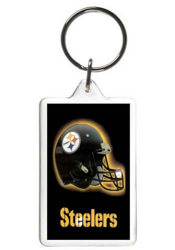 Pittsburgh Steelers Keychain NFL Football Key Tag at Amazon.com
