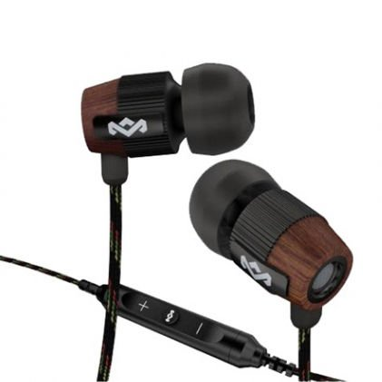 Brand New House Of Marley Em-Fe003-Mi Redemption Song In-Ear Headphones 3 Button Remote