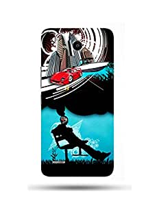 alDivo Premium Quality Printed Mobile Back Cover For Huawei Honor 3X / Huawei Honor 3X Back Case Cover (MKD085)