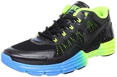 Mens Nike Lunar TR1 Running Shoes Black / Volt / Blue Glow 529169-074 Size 8