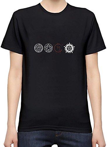 Supernatural Protection Light Symbols T-Shirt per Donne X-Large