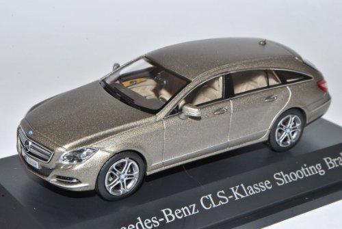 Mercedes-Benz CLS 350 Shooting Brake Manganit Grau Shape X218 Coupe Kombi Ab 2011 1/43 Norev Modell Auto