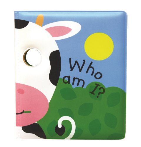 Who Am I? Moo, I am a Cow!: Peep through the eyes. Who are you today? (Bathtime Faces)