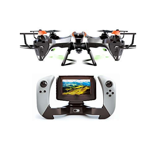 Udi-U818S-Large-6-Axis-Gyroscope-RC-Quadcopter-Drone-Black-Color-with-FPV-Camera-WIFI-818-Real-Time-FPV-Remote-Control-with-Extra-Battery