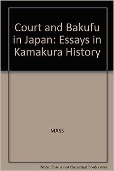Essay history in kamakura