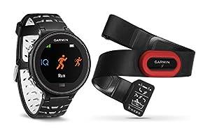 Garmin Forerunner 630 HRM - Reloj GPS con pulsómetro y métricas de carrera avanzadas, color negro