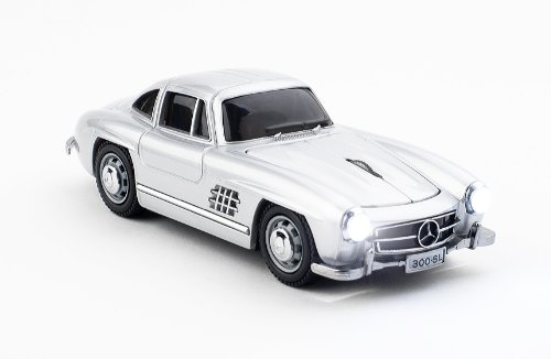 E-Stand Mercedes-Benz 300SL Wireless Optical Mouse (Silver)