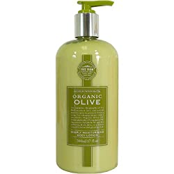 Olive Oil Greenscape Somerset Organic Deeply Moisturizing Body Lotion 17 fl oz