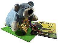 Dinosaur Fun Books, Pillow Pocket Bear Pet, Crayola and Fun Activities – Good Fun For Sleep Over,…