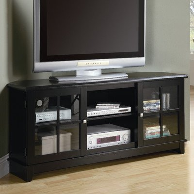 Monarch Specialties Veneer Top Length TV Console,