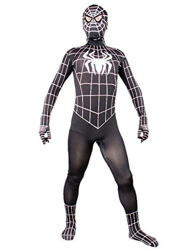 Wraith of East Adult Spiderman Cosplay Halloween Men Costumes Spandex Zentai