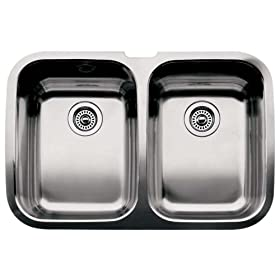 Blanco : 511-577 Supreme II Stainless Steel Sink (Depth: 10in / 10in)