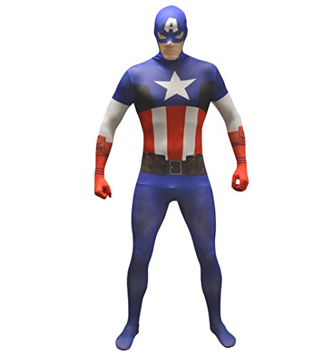 Captain America Marvel Comics Morphsuit (Captain America Morphsuit compare prices)