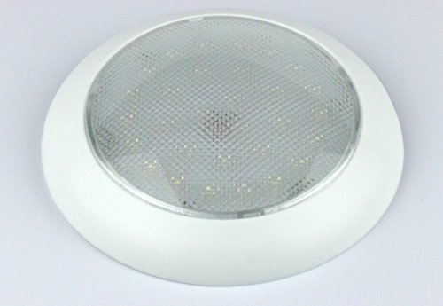 "Led Dome Light - High Power 5.5"" Led Downlight - 12Vdc - Fixed Mount - For Home, Auto, Truck, Rv, Boat And Aircraft"