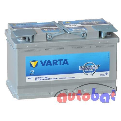 VARTA START-STOP AGM 80Ah 800A(EN) F21