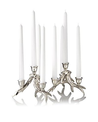 Go Home Set of 2 Antler 4-Candle Holder