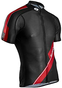 Sugoi Men's RS Cycle Team Jersey - Black/Matador, XX-Large
