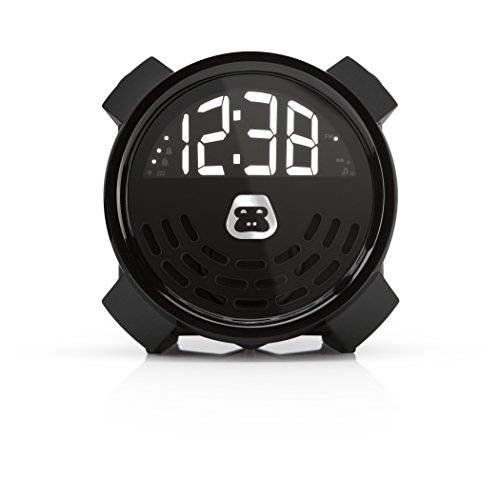 G-Project G-BUZZ Portable Alarm Clock FM Radio Speaker and Charger