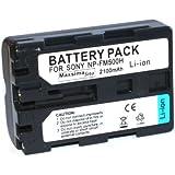 Maxsimafoto® - High Power, 2100mAh, NP-FM500H, NP-FM500 Compatible Battery for SONY Alpha a77, a57, a65, a200, a300, a350, a450, a500, a550, a560, a700, a850, a900.