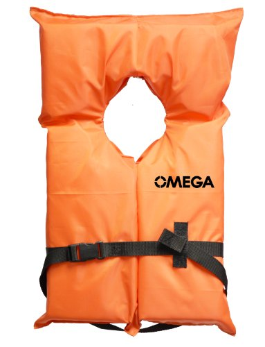 Flowt 40000-CLD AK-1 Type II Life Jacket, Orange, Infant / Child (Type Ii Infant Life Jacket compare prices)
