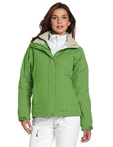 土拨鼠 Marmot 高端女士3合1防水透气冲锋衣Intervale $164.97 绿