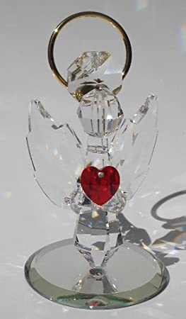 Handcrafted crystal angel