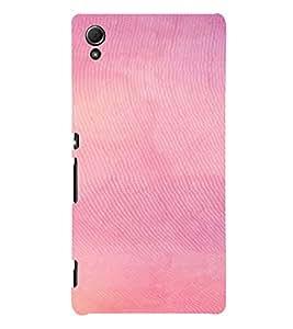 PrintVisa Pink Pattern 3D Hard Polycarbonate Designer Back Case Cover for Sony Xperia Z3 + Plus