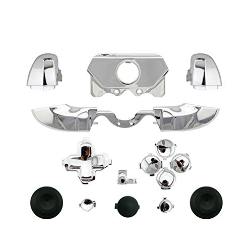 YTTLChrome-Silver-ABXY-Dpad-Triggers-Full-Buttons-Set-Kits-Controller-Mod-for-Newest-Xbox-One-Controller-35mm-Port-with-Screwdriver-Torx-T6-T8-Set