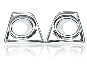 Front Fog Light Lamp cover trims Fit Toyota corolla 2014: Automotive