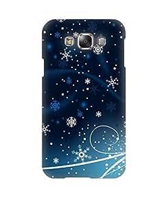 Pick Pattern Back Cover for Samsung Galaxy E7 SM-E700 (MATTE)
