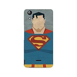 Mobicture Superman Minimalist Premium Printed Case For Micromax Canvas Selfie 2 Q340