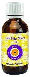 dève herbes Pure Bitter Gourd Oil (Momordica charantia) 100% Natural Cold Pressed Therapeutic Grade (5-1250ml)