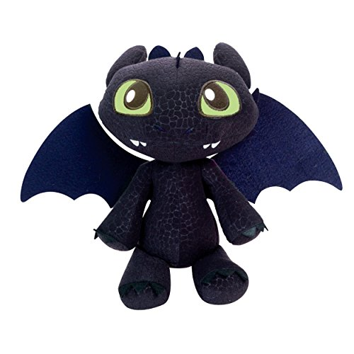 "DreamWorks Dragons Defenders of Berk - Squeeze & Growl Toothless, 11"" Plush with Sound FX - 1"