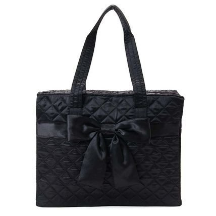 naraya-satin-fabric-traveling-bag-black-m-size-by-naraya